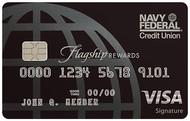 Navy Federal Credit Union Visa Signature® Flagship Rewards Credit Card